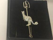 """Kangaroo GT190 Pewter Scarf and Kilt Pin Pewter 3"""" 7.5 cm"""
