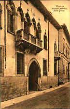 Vicenza Cartolina um 1910 Palazzo Bertolini Stile gotic Italy Vintage Postcard