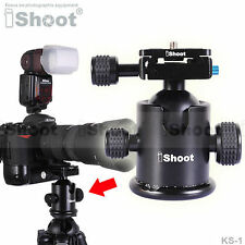 Pro Metal Ball Head+Quick-release Plate for Monopod Tripod Canon Nikon Sony 12kg