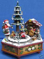 Hubrig Spieluhr Spieldose Weihnachtszeit Erzgebirge Neu! + Bonus