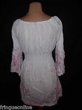 Robe Tunique School Rag  Taille 2 Blanc -  à  -70%* Femme