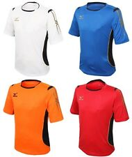 Mizuno Men GAME S/S T-Shirts Jersey Training White Blue Red Top Shirt P2MA601601