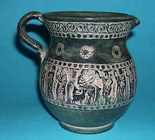 "Studio Art Pottery-Attrayant fait à la main ""grec Classics"" ILLUSTRATION cruche."