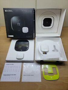 Ecobee 3 Smart Wi-Fi Thermostat  - Black Open Box