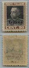 ERITREA - 1928 - MH - 50 cent francobolli Italia 218 soprastampati (128)