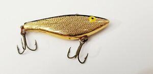 Gold Finish Rebel Racket-Shad Sinker Model Lure