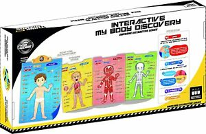 Think Gizmos Best Learning Interactive My Body i-Poster TG706 - Home Learning an