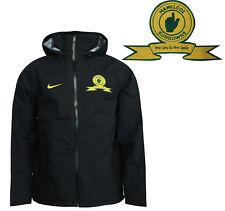 d83719ce Nike Zip Up Hooded Mens Mamelodi Sundowns Training Jacket Black 355575 010  P6F