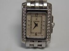 Concord Sportivo Stainless Steel Diamond Bazel & Hour Marks Ladies Watch