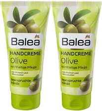 Balea Olive Hand Cream Creme Pure Butter Dry Skin Soft Beauty Hands 2 x 100ml
