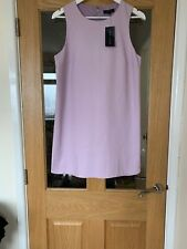 New Look BNWT Size 12  Lilac Lined Shift Dress. Underarm Length 23 Inched