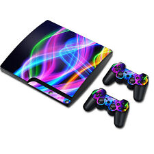 TN0157*Skin Sticker Vinyl Decal Cover For PS3 PlayStation 3 Slim+2 Controllers