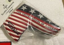 BNIB Scotty Cameron 2014 US Open Golf Championship Blade Putter Headcover Cover