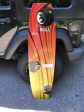 OBrien Eight-Ball Wakeboard No Fins, No Boots.