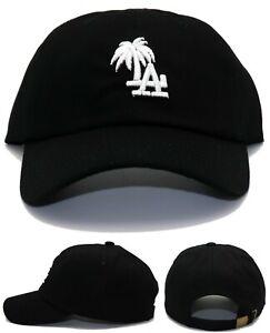 Los Angeles New Vintage Ladies Women Palm LA Headlines Dodgers Black Era Hat Cap