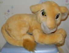 Vintage Disney Store Young Nala Plush Acrylic Eyes 12""