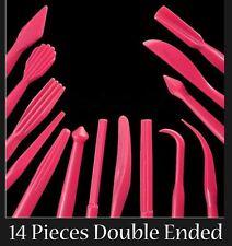 Cake Decorating Modelling Tools Fondant sugarcraft 14 double ended (28 shapes)