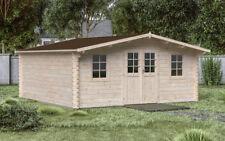 44 mm Gartenhaus 600x500 cm Gerätehaus Blockhaus Holzhaus Schuppen Hütte Holz