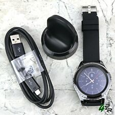 Samsung Gear S2 Classic SM-R735T (T-Mobile) Smart Watch New Silicone Black Band