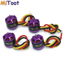 4pcs Mitoot R1106 7600KV Metal Brushless Motor Kit for 60 70 80 90 Micro FPV