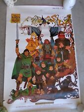 Vintage 1978 Greogry & Falk LORD OF THE RINGS Fellowship of Ring Movie Poster