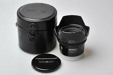 "Minolta AF 20mm F2.8 RS ""Mint"" w/Case for Minolta/Sony [12801207]"