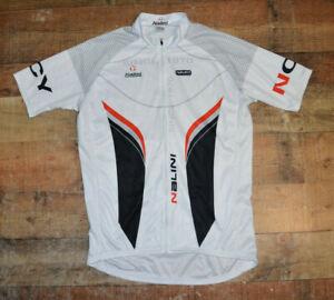 Men Nalini Excel Sports Boulder Full Zip Bicycle Jersey Size XL Short Sleeve B15