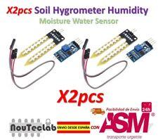 2pcs Soil Hygrometer Humidity Detection Module Soil Moisture Water Sensor
