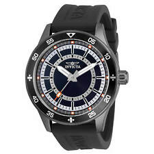 Invicta Specialty Men 45mm Stainless Steel Gunmetal Black Blue White Red Dial ..