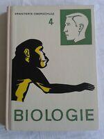 Biologie 4 Klasse 12, Volk und Wissen, DDR Lehrbuch 1969 erweiterte Oberschule