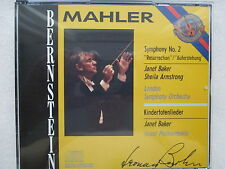Mahler Symphony No.2 Kindertotenlieder - Bernstein Baker Armstrong - 2 CD JAPAN