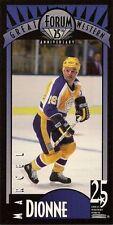 Marcel Dionne Hockey Card - 1993 Great Western Forum