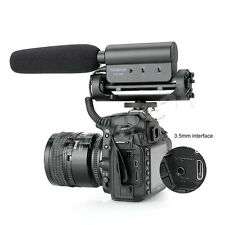 Takstar SGC-598 Interview Shotgun microphone for Canon Nikon video photography
