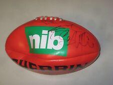 Geelong - Joel Selwood signed Geelong NIB (Sponsor) Mini Sherrin Football + COA