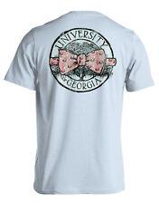 University of Georgia Bulldogs Bow Tie Live Oak Comfort Colors T-Shirt-XX-Large