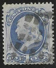 2v0688 Scott 182 US Stamp 1879 1c Franklin Used