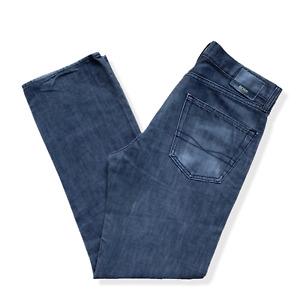 Mens Hugo Boss Jeans | W32 L30 | Grey Denim Straight Leg Button Fly Scout