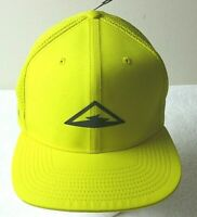 Nike Mens Dri-Fit Pro Trail Running Cap Hat Speed Yellow Black adjustable NWT