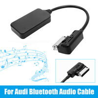 Car AUX to Bluetooth Audio Cable Music Adapter For Audi AMI MMI Interface AU