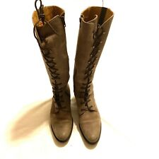 Vera Gomma Hunter Leather Knee High Fashion Women's Boots Size 6.5