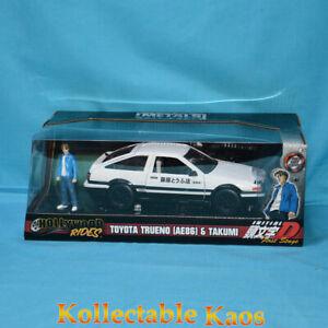 1:24 Jada - Initial D Toyota Treuno AE86 with Takumi Figure