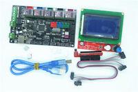 3D Printer Controller Kit  MKS Gen V1.4 + 12864 LCD Display +5pcs DRV8825 Driver