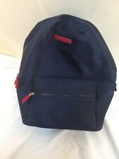 Tommy Hilfiger Nylon Backpack School Travel Bag Laptop Sleeve Navy Blue NWT