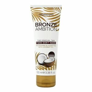 Bronze Ambition The Gradual Tan Fake Dont Bake 100ml