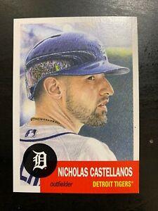 2018 Topps Living Set Card #3 Nicholas Castellanos Detroit Tigers