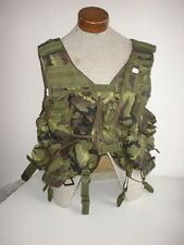 CZECH ARMY original VZ95 camo tactical vest w/ integral CURVED 30 rd pouches