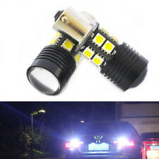 2xBA15S 1156 LED Backup Reverse Light R5+12-SMD Tail Bulb 1141 7506  HS