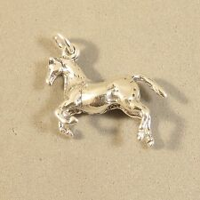 .925 Sterling Silver 3-D APPALOOSA HORSE CHARM NEW Pendant Mare Pony 925 HS31