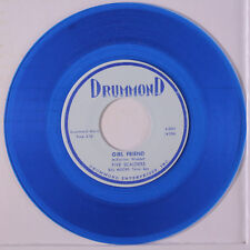 FIVE SCALDERS: Girl Friend / Willow Blues 45 (repro, blue wax) Vocal Groups