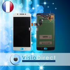 """Ecran complet pour Motorola Moto G5 5"""" blanc vitre tactile + LCD"""
